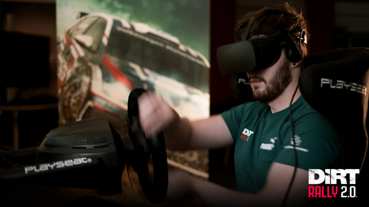 DiRT Rally 2 0: Version 1 7 VR Feedback - Technical