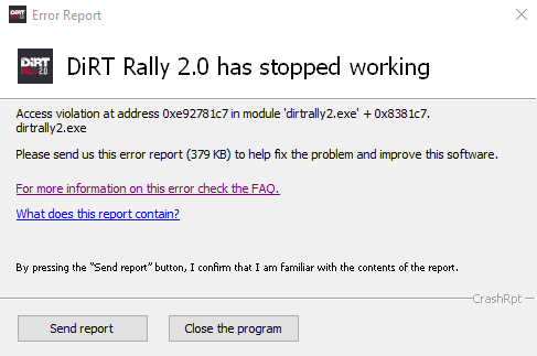 DIRT RALLY 2 ERROR MSG.png